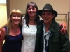 with Sheilagh O'Leary and Ron Hynes