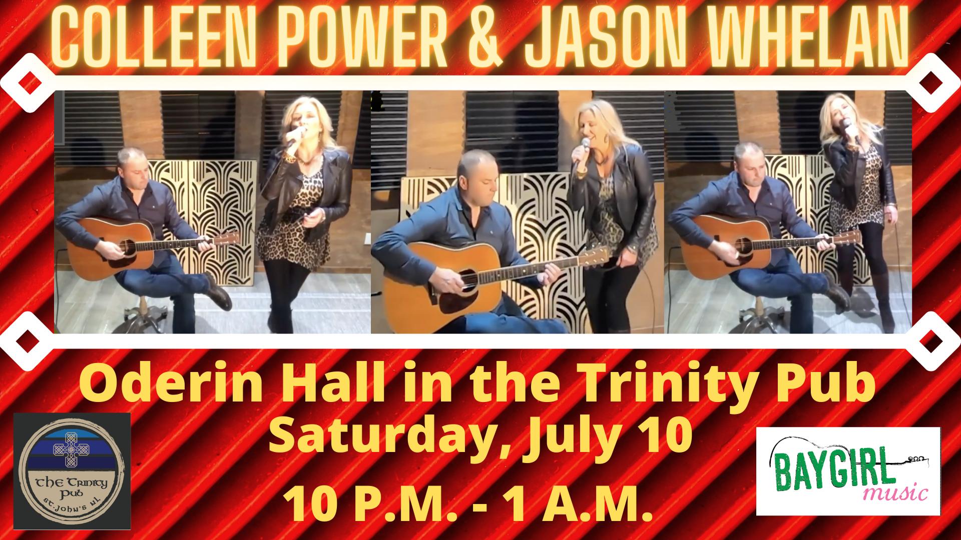 Colleen Power & Jason Whelan